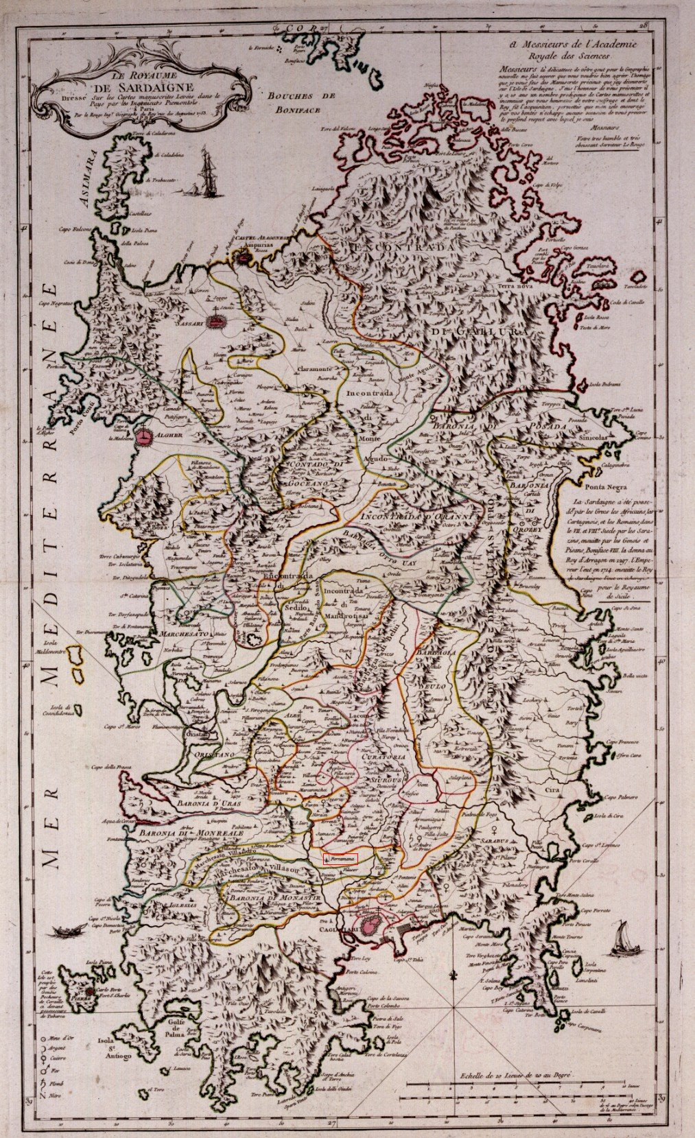 Cartina Antica Sardegna.Cartine Storiche In Cui Appare Serramanna